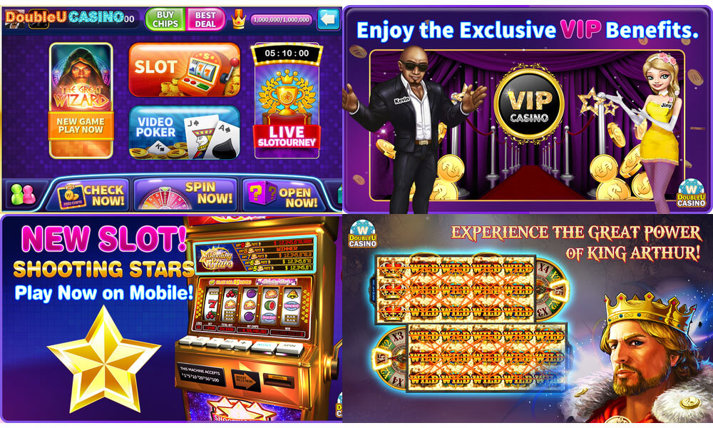 free chips on double u casino