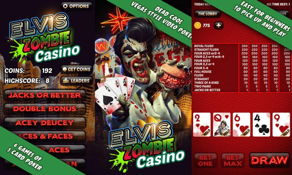 Aces Elvis Zombie Casino
