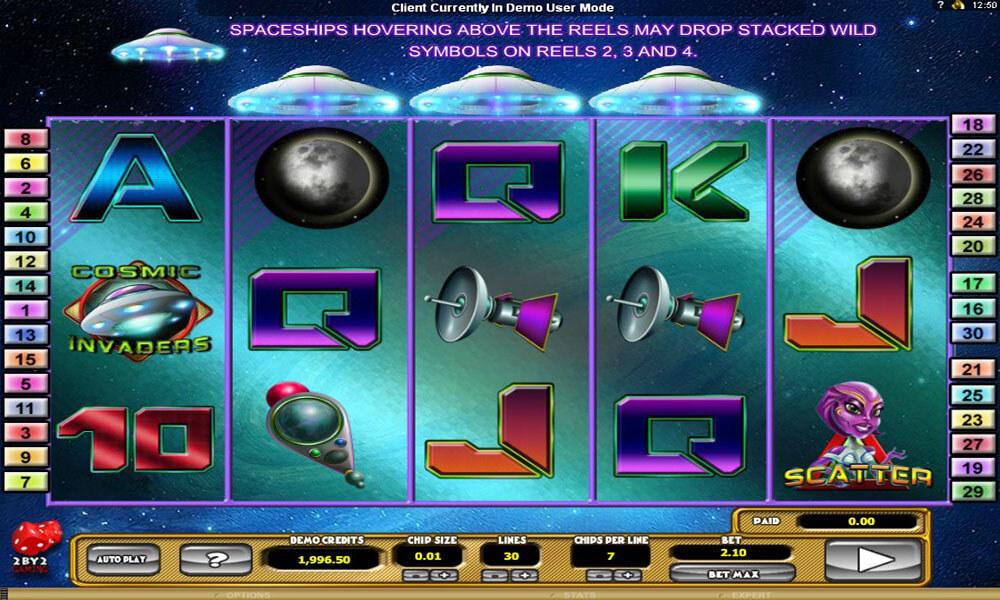 Cosmic Invaders Screenshot