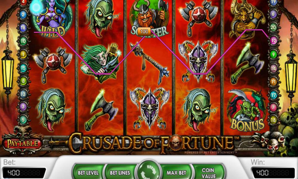 Crusade of Fortune Pokie