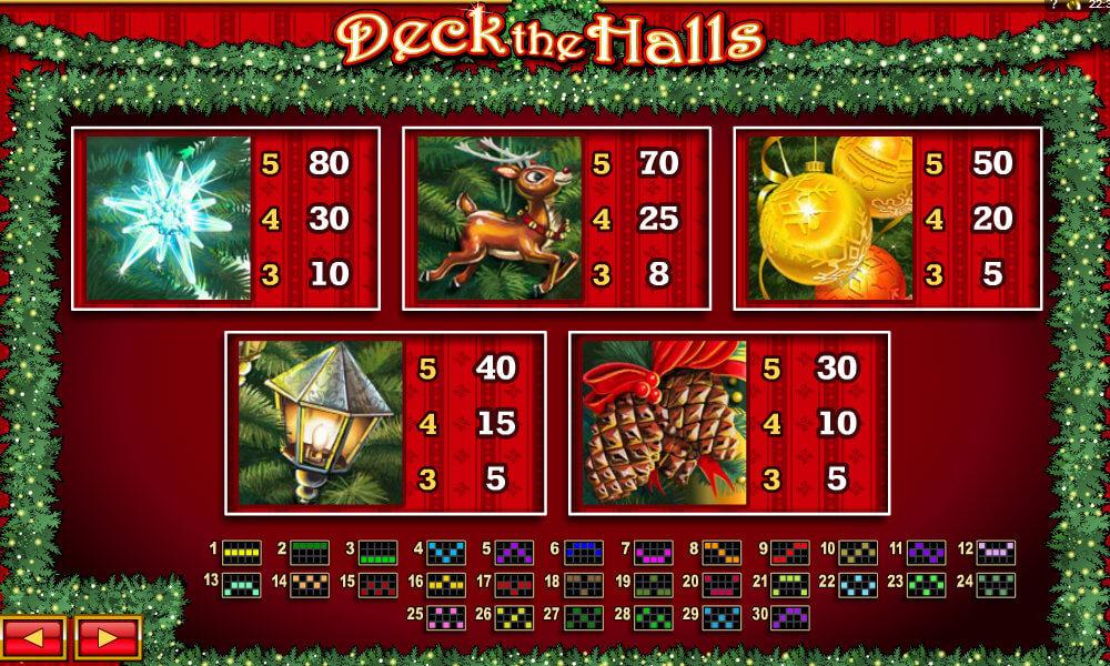 Deck The Halls - Rizk Casino