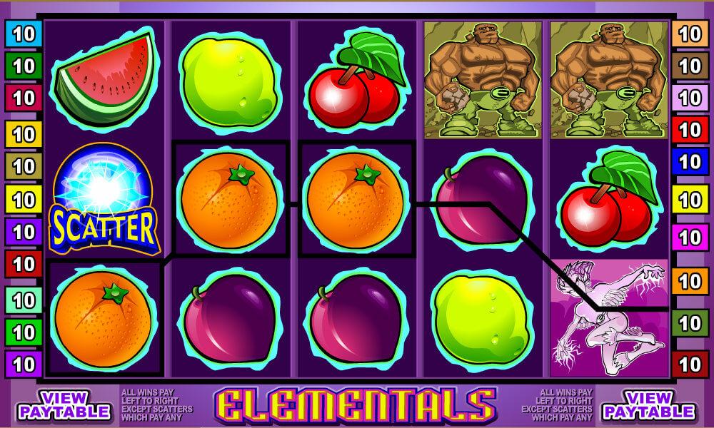 Free Pokie Elementals