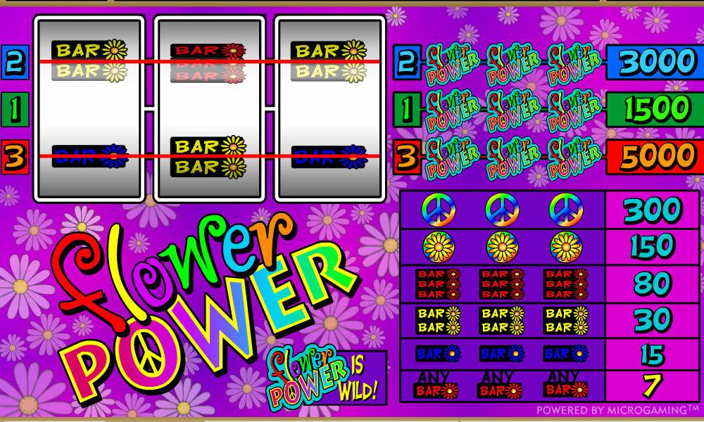 Flower Power Pokie