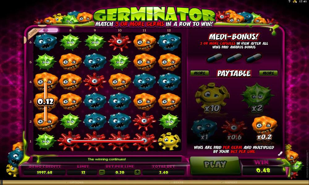 germinator casino