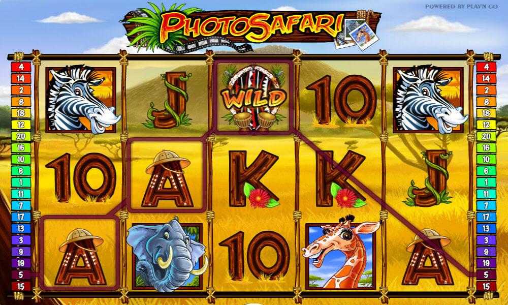 Photo Safari Pokie