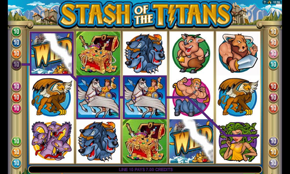 Stash of the Titans Pokie
