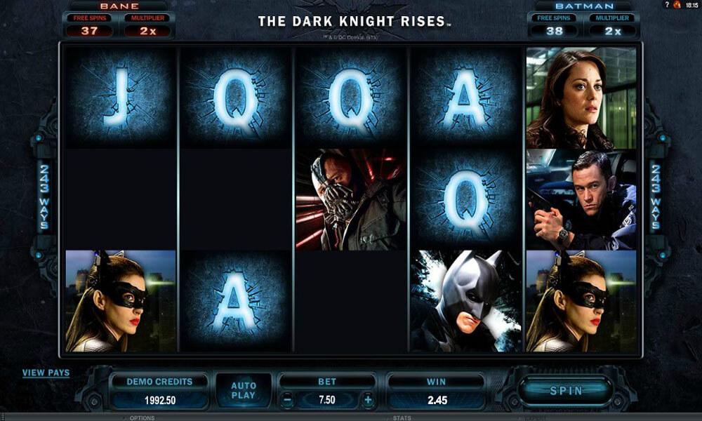 The Dark Knights Rises Slot