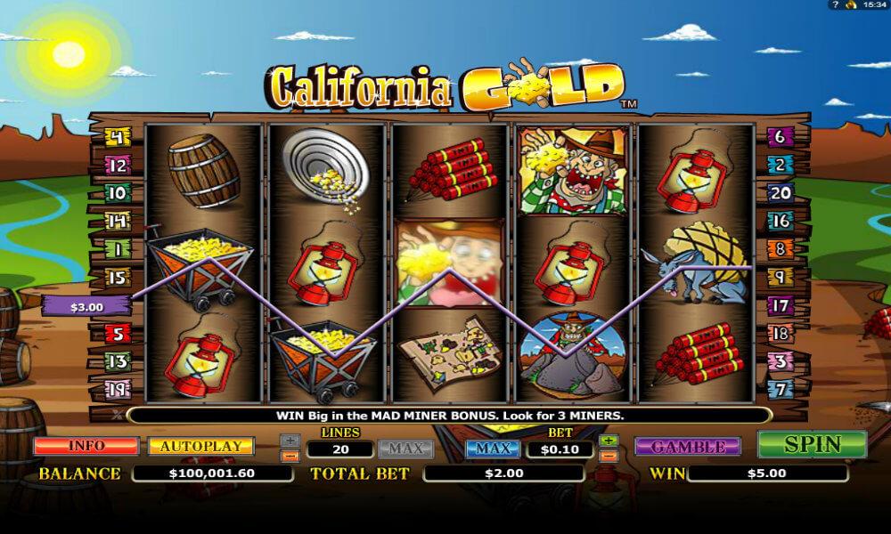 slots casino california